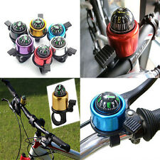 New Bike Road Bicycle Cycling Handlebar Bell Ring Horn With The Compass MW