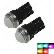 2x T10 W5W 2 LED Car Interior Side Park Tail Light Bulbs 5630 SMD Bright Lens