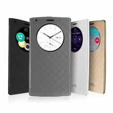 Luxury Quick Circle Smart Window View Slim Wallet Flip Case Cover For LG G3 G4