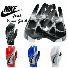 KIDS/YOUTH NIKE VAPOR JET 4 FOOTBALL GLOVES (STYLE: GF0498) ASST. COLORS & SIZES