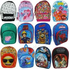 CHARACTER KIDS SCHOOL BACKPACKS RUCKSACKS BOYS GIRLS STAR WARS, PEPPA + MORE