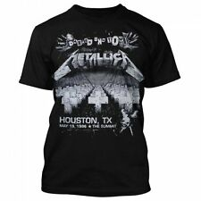 Men's Metallica Damage on Tour T-Shirt Officially Licensed
