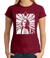 Sitting Bull Junior Fit T-shirt for Ladies Vintage Indian Tribal Chief - 1359C