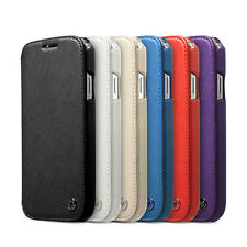 Zenus Minimal Genuine Leather Protect Diary Cover Case For Samsung Galaxy S4