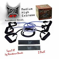 TapouT XT Resistance Bands Set + WARRANTY✓ 3 Bands✓ Pilates✓ ABS✓ Fitness✓