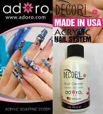 Brush Cleaner Adoro Acrylic Nail System 2 oz compare to Mia Secret MADE IN USA!!
