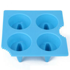 Silicone Drink Ice Tray Cool Shark Fin Shape Ice Cube Freeze Mold Ice Maker Mold