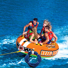 WOW BIg Boy Ski Tube + 3 Person Tow Rope Package