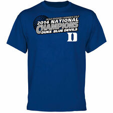 Duke Blue Devils 2014 NCAA Women's Golf National Champions T-Shirt - Duke Blue
