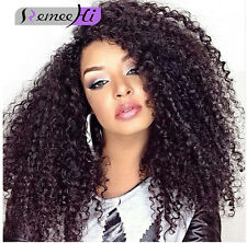 "12""-22"" Brazilian Curly 100% Indian Remy Human Hair Lace Front /Full Lace Wig"