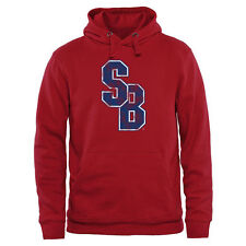 Stony Brook Seawolves Red Classic Primary Pullover Hoodie