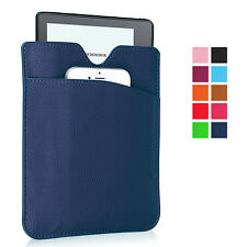 Slim Soft PU Leather Pouch Sleeve Cover Case for Amazon Kindle 6'' 7'' eReader