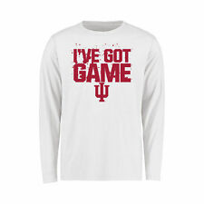 Indiana Hoosiers Youth White Got Game Long Sleeve T-Shirt
