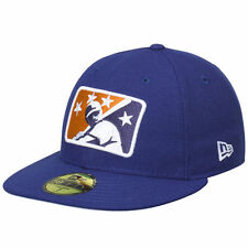 New Era Durham Bulls Royal Logo Reverse Fitted Hat
