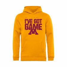 Minnesota Golden Gophers Youth Gold Got Game Pullover Hoodie - College