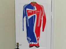 ADIDAS SKY Team GB Rider Issue CX skinsuit --- Cyclocross cycling bike shorts