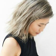 Women Girls Triangle Hair Clip Delicate Hair Pin Hair Decorations Jewelry SH