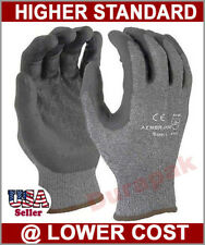 36 Pair Advance Foam Nitrile Coating Nylon / Lycra Industry Gloves Gray S,M,L,XL