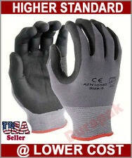 48 Pairs Micro Foam PU / Nitrile Coating Nylon Gloves S,M,L,XL Industrial Use