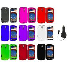 Color Hard Snap-On Case Cover+RET Charger for Samsung Epic 4G Phone Accessory