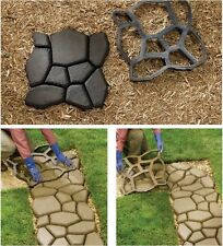 Concrete Slabs Stepping Paving Mould Pavement Mold Path Walk Maker Stone Mold
