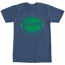 CHIN UP Football Touchdown Cheer Drink Beer Mens Graphic T Shirt