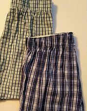2 PAIR OF BOYS PLAID OLD NAVY ELASTIC BOXERS   SIZE SMALL  NWT &  NWOT