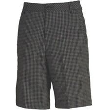 Puma GoTime Plaid Tech Golf Shorts 569104 - Black/Red - $70 NEW WITH TAGS