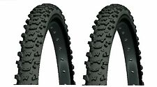"2 x MICHELIN MOUNTAIN BIKE TYRE 26 x 2.00 MUD 200B 26"" Pair Knobbly Tyres MTB"