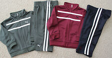 NWT Puma Athletic Track Pants Jacket Boy's Options 3 6 12 M 2 Pc FREE Ship