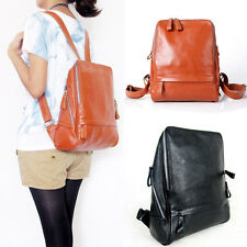 New Fashion FR22 Women's Backpacks Genuine Leather Bag Zipper Closures Satchels