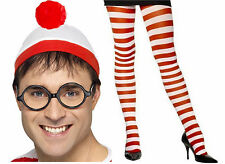 Ladies OFFICIAL Where's Wally Wenda Hen Fancy Dress Costume Accessories