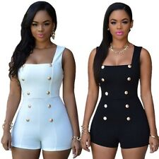 Sexy Women Ladies Sleeveless Romper Cocktail Party Bodycon Playsuit Jumpsuit
