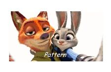 Zootopia. Counted Cross Stitch Patterns. Paper version or PDF Files.
