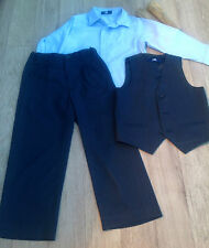 Boys 4 Piece Suit Age 4 years Duck & Dodge NAVY Wedding Communion confirmation