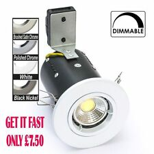 FIRERATED LED DOWNLIGHT 5WATT COB DIMMABLE AVAILABLE IN COOL WHITE or WARM WHITE
