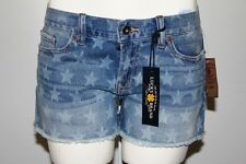 NWT LUCKY BRAND RILEY STARS WOMEN DENIM JEANS SHORTS SIZE 31 $80