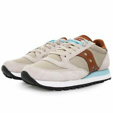 Saucony JAZZ ORIGINAL Mens Tan Casual Lace Up Sneaker Shoes