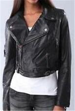 Diesel Leather Jacket New Womens G-Sienna Leather Jacket Size S M $598 Retail