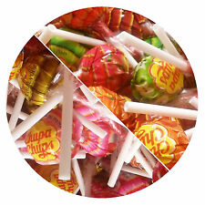 FRUITY or MILKY Chupa Chups Lolly Sweets Lollies 12g (10, 30 or 120)