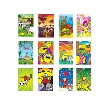Mini Notebooks Notepads Party Bag Toys Fillers Assorted Designs (10, 30 or 168)