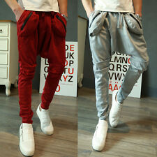 New Fashion trend leisure men's Clothing casual pants individuality haroun pants