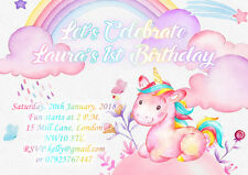 10 x Personalised Birthday Party Invitations or Thank you Cards My Little Pony