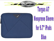 "Targus A7 Neoprene Sleeve for 9.7"" iPads / Tablets Blue"