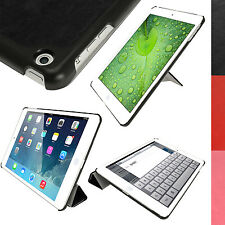 PU Leather Smart Stand Flip Case Cover for Apple iPad Air 2013 iPad 5 Sleep/Wake