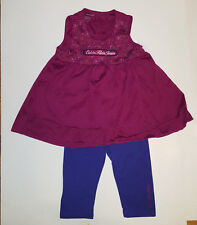 CALVIN KLEIN 2 Piece Outfit Set TODDLER Girl Size-18 or 24 Months or 2T   NWT