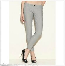 NWT GUESS Beverly Skinny Pants Striped Jeans Ankle Zip Size 31 L