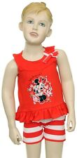 NWT Disney Infant Girl's Minnie Mouse Shorts/Tank Set: Size 24 months