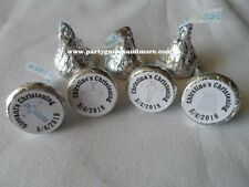PERSONALIZED CHRISTENING, BAPTISM PARTY FAVOR HERSHEY'S KISS LABEL CANDY WRAPPER