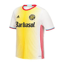 adidas Columbus Crew SC Youth White/Yellow 2016 Replica For Columbus Jersey